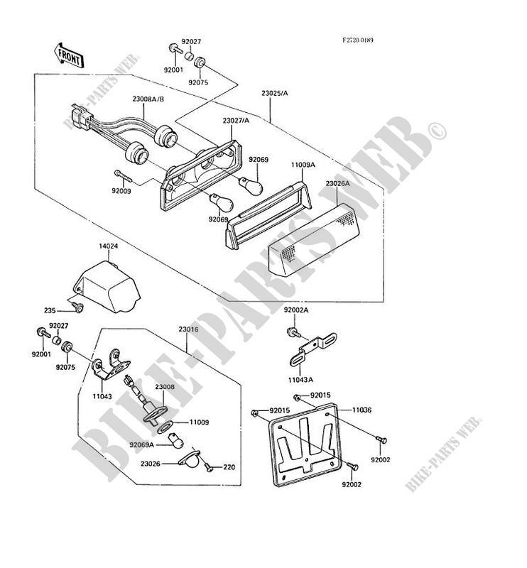 Enjoyable Kawasaki Gpz600R Wiring Diagram Basic Electronics Wiring Diagram Wiring 101 Cranwise Assnl