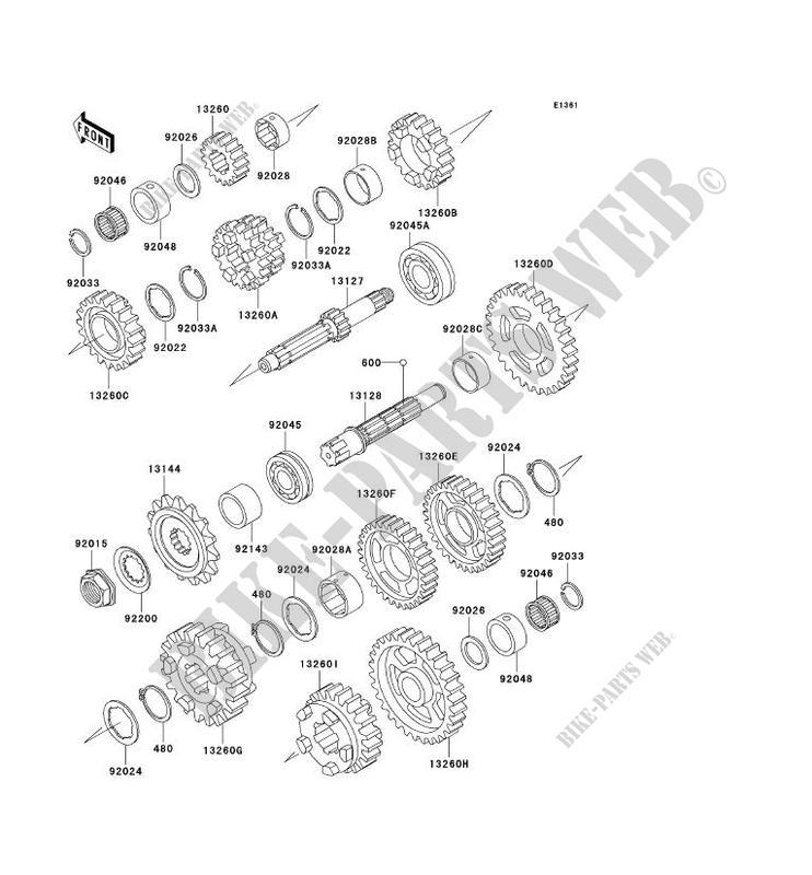 Rear Brake Light Switch Kawasaki ZZR 600 ZX600E10 2002