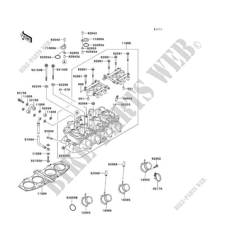 Fantastic 03 5 Zzr600 Zx600 New Genuine Kawasaki Cylinder Head 10X37 Banjo Wiring Cloud Hisonuggs Outletorg
