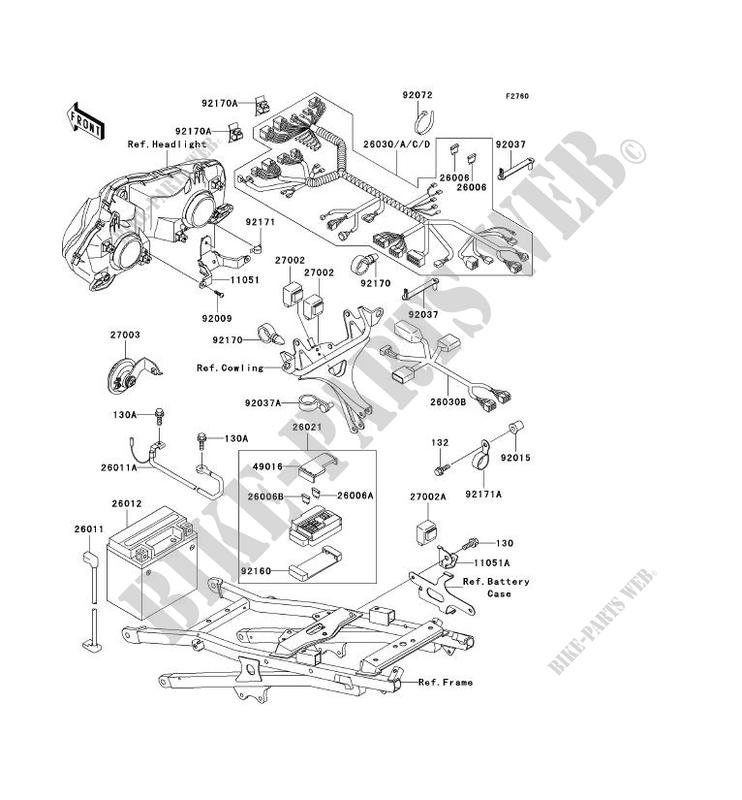 Kawasaki Zx600 Wiring Schamatics For Motorcycle - Wiring ... on