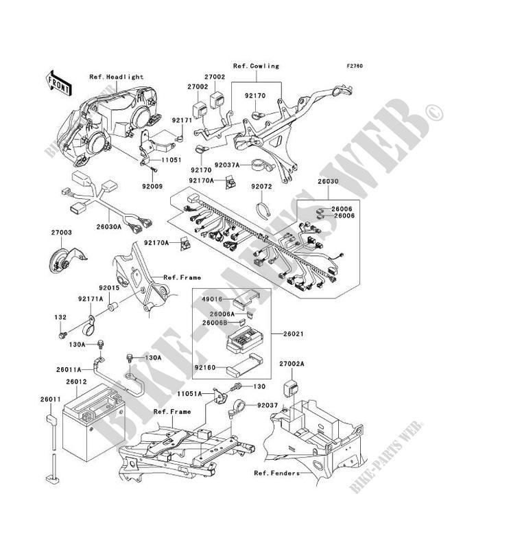 6x16 on kawasaki 636 manual, kawasaki 636 headlights,
