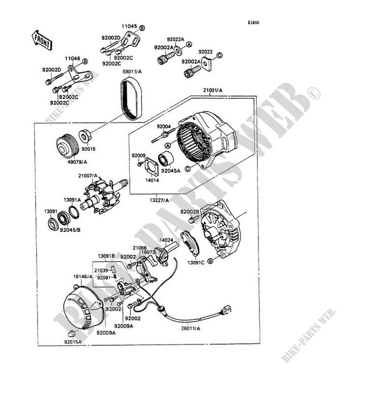 GENERATOR for Kawasaki ZXR750 1989 # KAWASAKI - Genuine ... on troubleshooting diagrams, pinout diagrams, hvac diagrams, series and parallel circuits diagrams, internet of things diagrams, electrical diagrams, led circuit diagrams, engine diagrams, honda motorcycle repair diagrams, smart car diagrams, motor diagrams, lighting diagrams, gmc fuse box diagrams, switch diagrams, transformer diagrams, friendship bracelet diagrams, electronic circuit diagrams, battery diagrams, sincgars radio configurations diagrams,