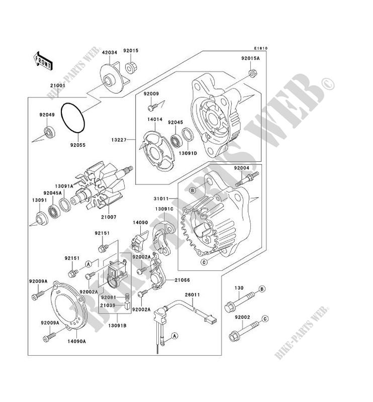 Kawasaki Ninja 750 Parts Diagram