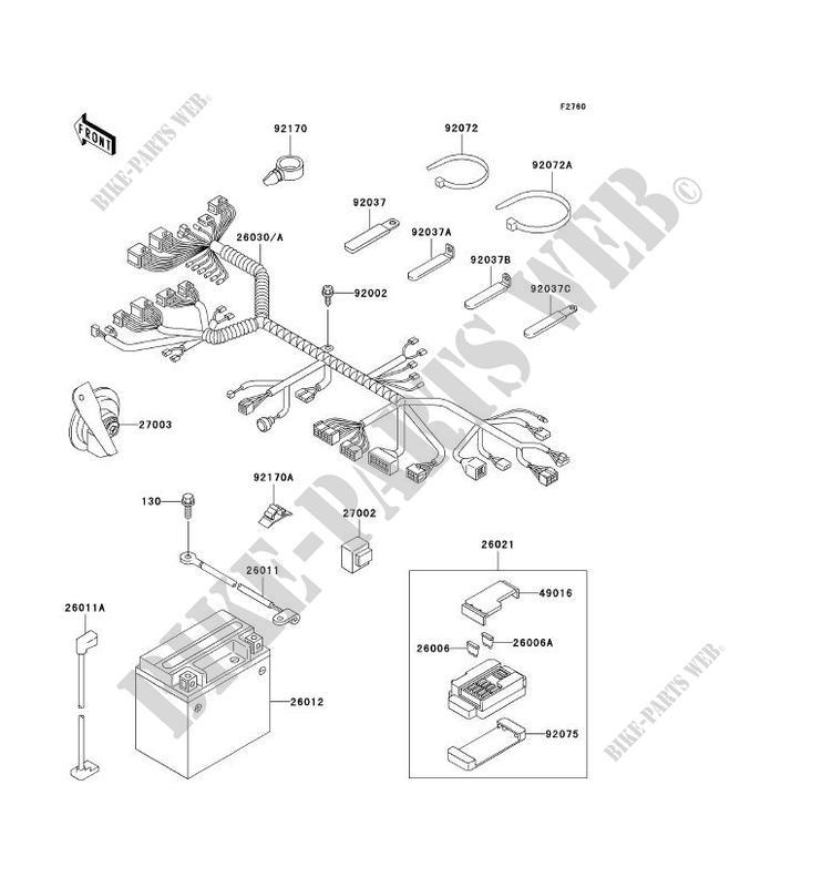 kawasaki motorcycles 900 wiring diagram