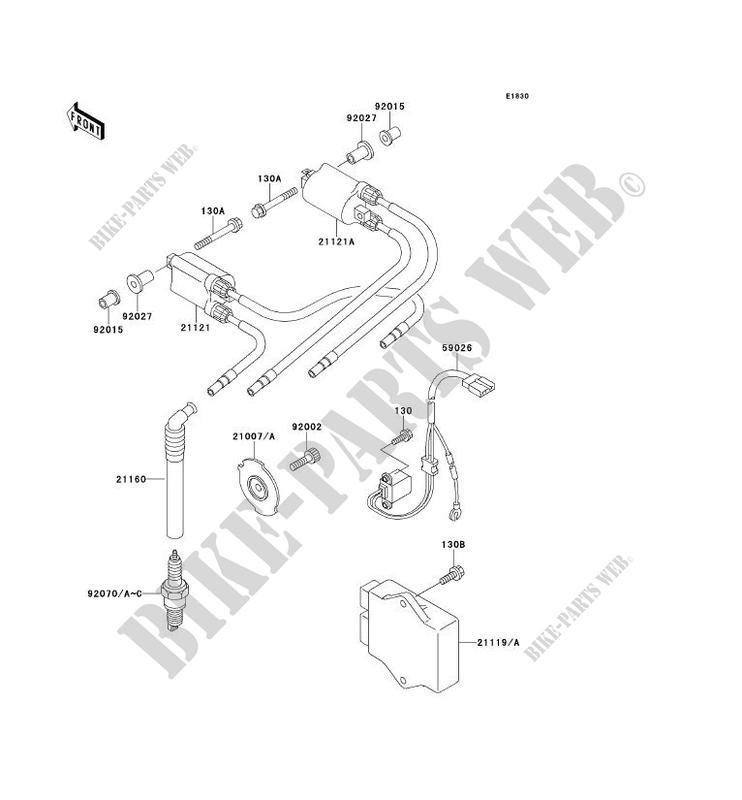 Kawasaki 21160-1088 Plug Cap QTY 1 Automotive