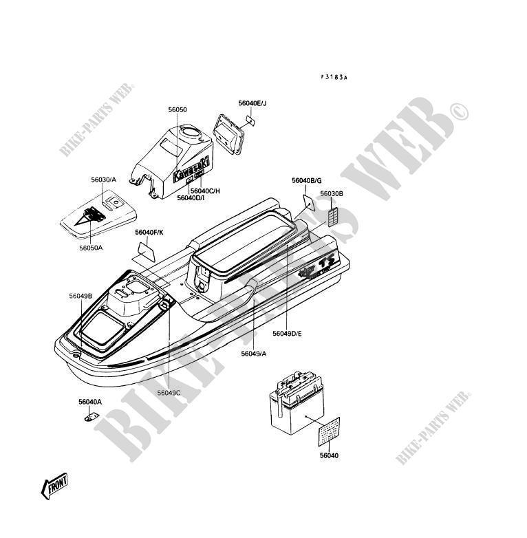 1990 Kawasaki Ts Jet Ski Wiring Diagram Mahindra Tractor Electrical Wiring Diagrams Bege Wiring Diagram