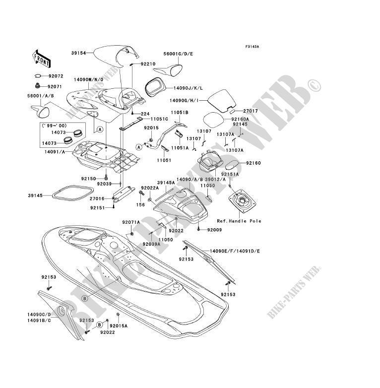 kawasaki ultra 150 parts diagram  kawasaki  wiring