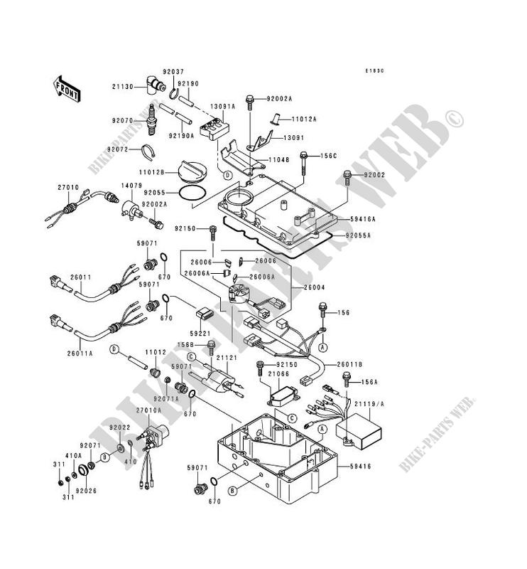 1996 750 Kawasaki Jet Ski Wiring Diagram. . Wiring Diagram Kawasaki Zxi Wiring Diagram on