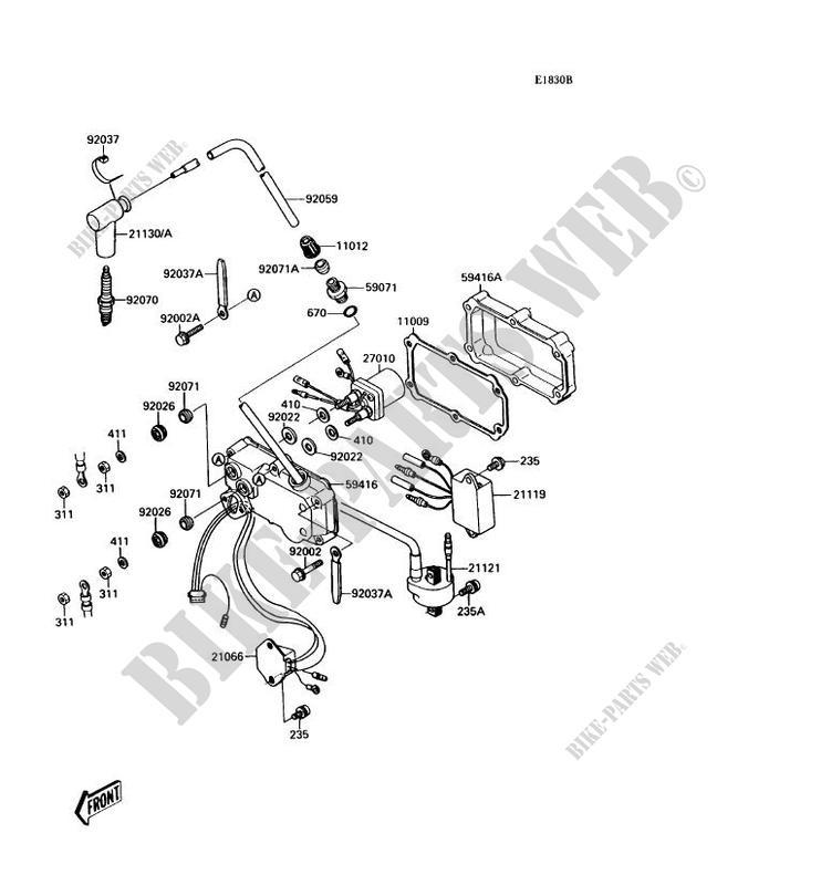 ignition system js300 a3 jet ski 300sx 1989 300 jet ski kawasaki rh bike parts kawa com