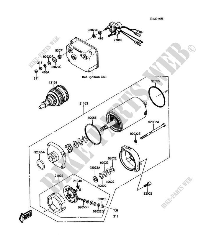 1988 650 kawasaki jet ski parts diagram  kawasaki  wiring