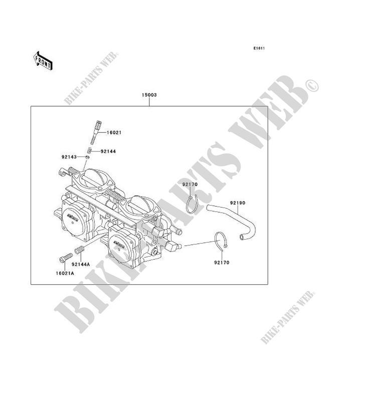 Kawasaki 29HP Engine Carb Spacer  16073-7011