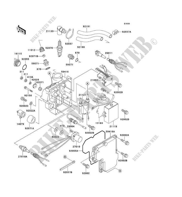 ignition system for kawasaki jet ski 750 sxi 1997 kawasaki 94 vulcan 750 wiring diagram kawasaki 750 sxi wiring diagram #6