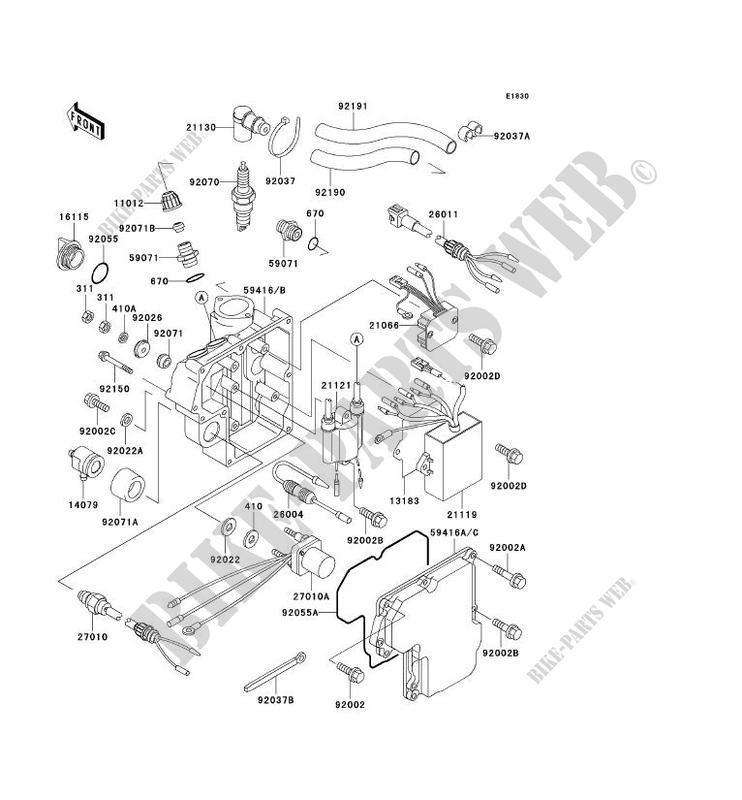 kawasaki sxi pro wiring diagram ignition system for kawasaki jet ski 750 sxi pro 2000 kawasaki  kawasaki jet ski 750 sxi pro