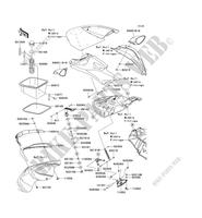 Kawasaki Ultra X Spare Parts