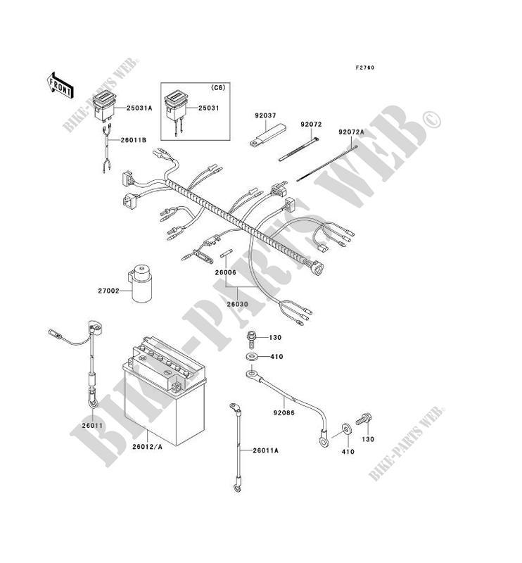 Kawasaki Mule 550 Parts Diagram - Owner Manual & Wiring Diagram on