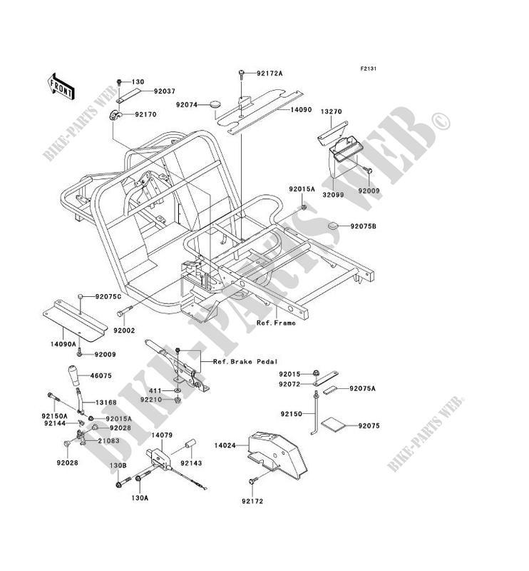 Kawasaki Mule 550 Parts Diagram