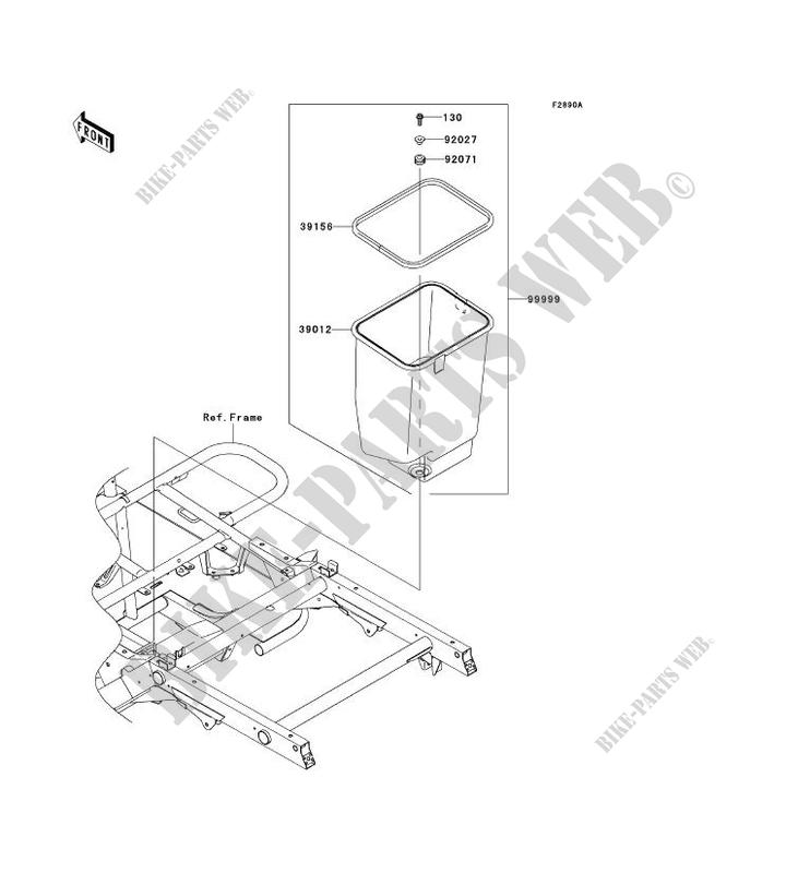 30 Kawasaki Mule 610 Parts Diagram