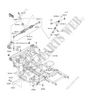 CHASSIS for Kawasaki MULE 600 2006
