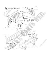 LABELS for Kawasaki MULE 600 2006