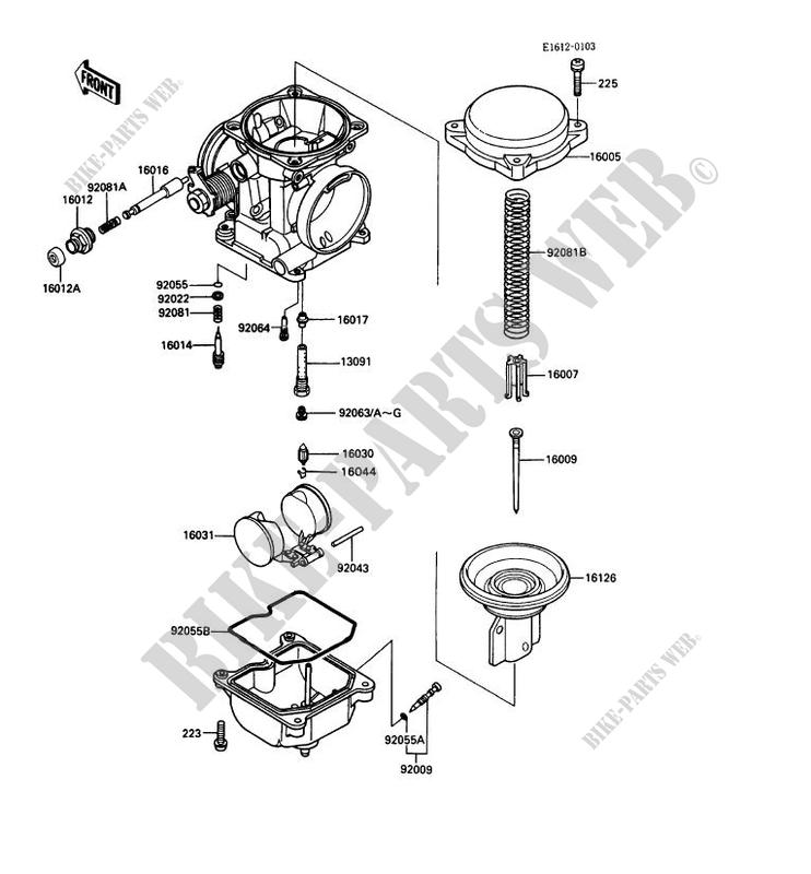 kawasaki mule 610 parts diagram fuel regulator  kawasaki
