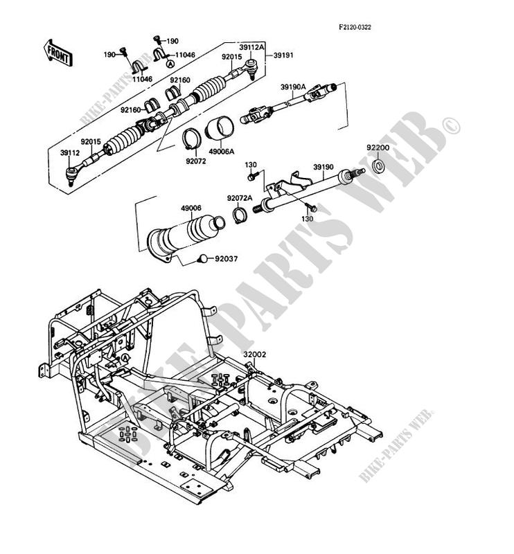 kawasaki mule parts diagram online