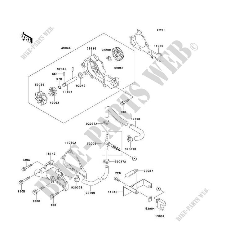C_14 water pump kawasaki mule 2510 no_year 620 kaf620 a6 8159 kawasaki 2510 mule wiring diagram at bayanpartner.co