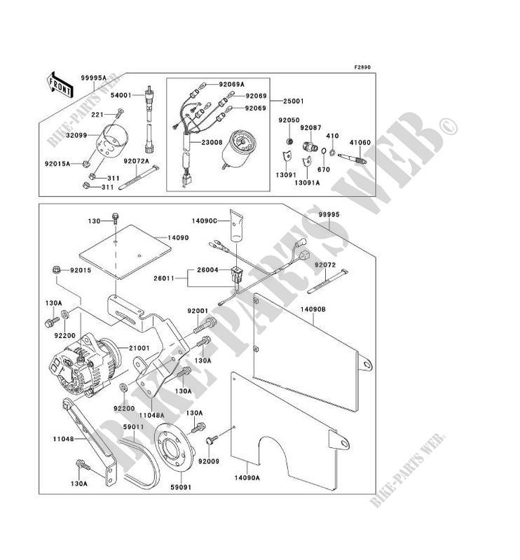 Kawasaki Mule 2500 Parts Diagram - Wiring Diagram M6 on