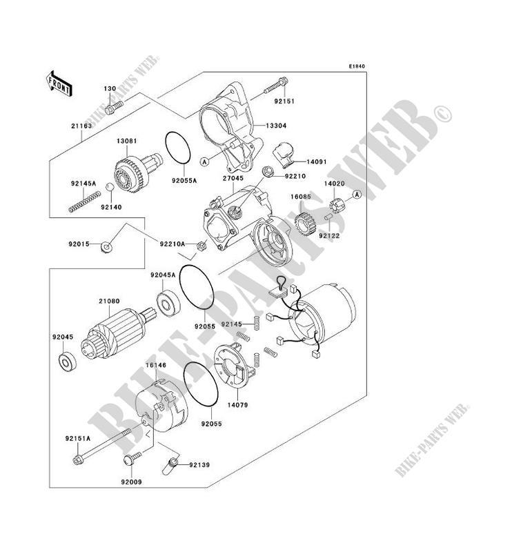 Starter Motor Kaf620 E5 Mule 3010 4x4 No Year 620 Ssv Kawasaki. Water Pump Kawasaki Ssv 620 Noyear Mule 3010 4x4 Kaf620e5 Starter Motor. Kawasaki. Kawasaki Mule 3010 Parts Diagram Water Pump At Scoala.co