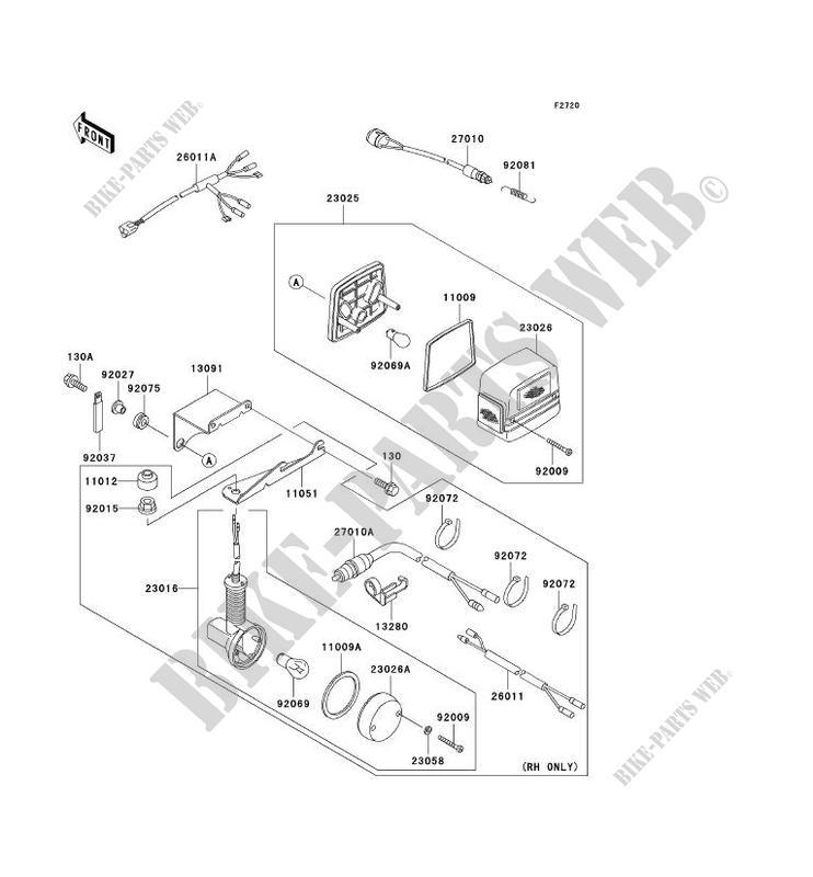 Kawasaki Mule 3010 Engine Cooling System Diagram