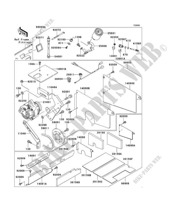 31 Kawasaki Mule 3010 Parts Diagram