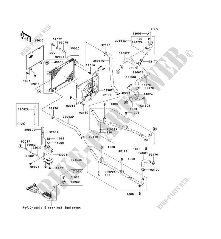 Radiator Kaf620j7f Mule 3010 Trans 4x4 2007 620 Ssv Kawasaki. Kawasaki Ssv 620 2007 Mule 3010 Trans 4x4 Kaf620j7f Radiator. Kawasaki. 2007 3010 Kawasaki Mule Parts Diagram At Scoala.co