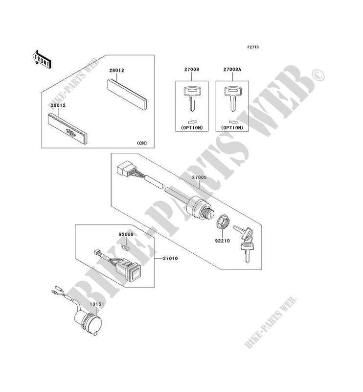 SWITCH for Kawasaki MULE 3010 TRANS 4X4 2008 # KAWASAKI ... on kawasaki mule wiring-diagram blueprints, kawasaki mule charging system, kawasaki mule 610 4x4 parts, yamaha rhino wiring diagram, john deere 3010 wiring diagram, kubota rtv 900 wiring diagram, kawasaki mule 550 wiring-diagram, kawasaki mule 3000 parts manual, kawasaki mule 550 electrical diagram, kawasaki parts diagram, mule 4010 wiring diagram, kawasaki mule carburetor diagram, arctic cat prowler wiring diagram, teryx wiring diagram, 610 mule wiring diagram, kawasaki mule 2510 engine parts, polaris rzr wiring diagram, polaris ranger wiring diagram, kawasaki 2510 wiring-diagram, 4x4 wiring diagram,
