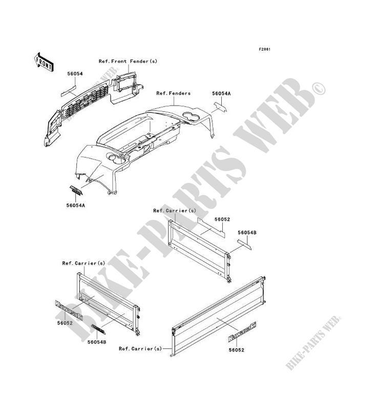 kawasaki mule 4010 parts manual pdf complete wiring diagrams u2022 rh oldorchardfarm co kawasaki mule kaf620e parts manual kawasaki mule kaf620e parts manual