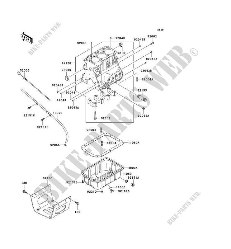 Kawasaki 92066-1526 PLUG