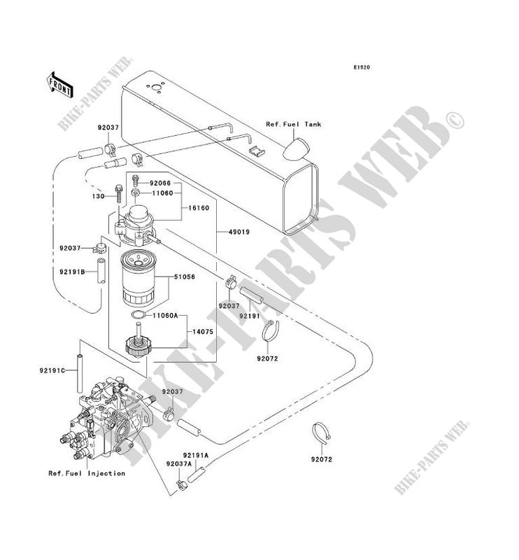 kawasaki mule 3010 fuel pump relay wiring diagram