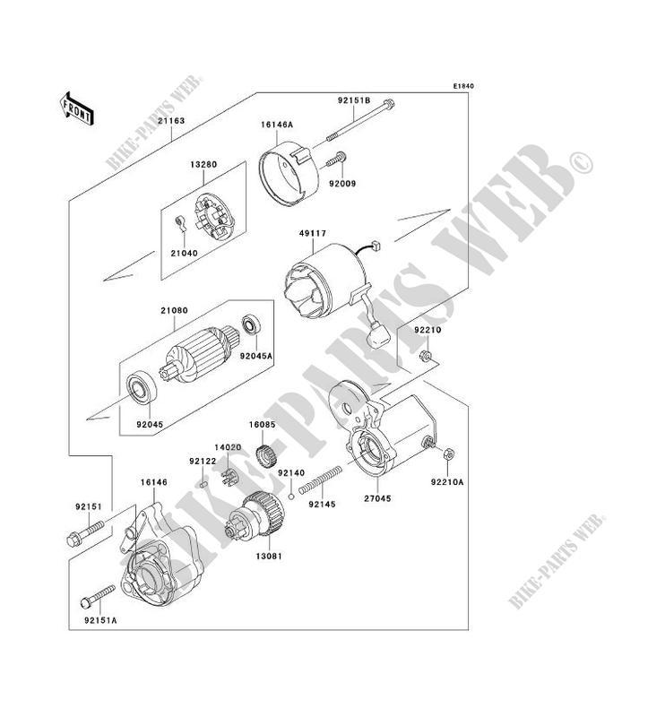 Starter Motor Kaf950 B1 Mule 3010 Diesel No Year 950 Ssv Kawasaki. Kawasaki Ssv 950 Noyear Mule 3010 Diesel Kaf950b1 Starter Motor. Kawasaki. 3010 Kawasaki Mule Kaf950b Parts Diagram At Scoala.co