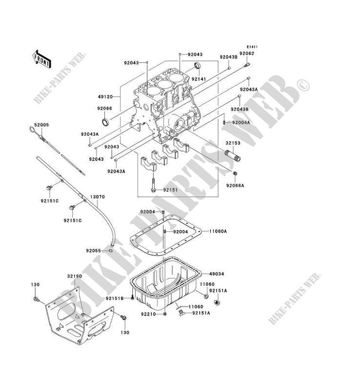 Kawasaki Mule 3010 Oil Drain Plug