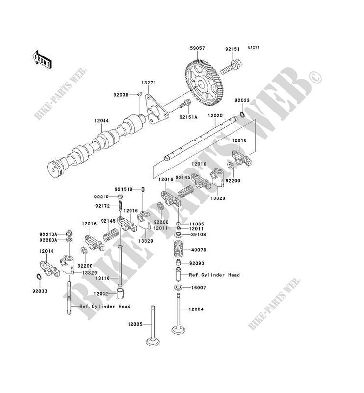 Valve Camshaft Kaf950c7f Mule 3010 Trans 4x4 Diesel 2007 950 Ssv. Kawasaki Ssv 950 2007 Mule 3010 Trans 4x4 Diesel Kaf950c7f Valve Camshaft. Kawasaki. 2007 3010 Kawasaki Mule Parts Diagram At Scoala.co