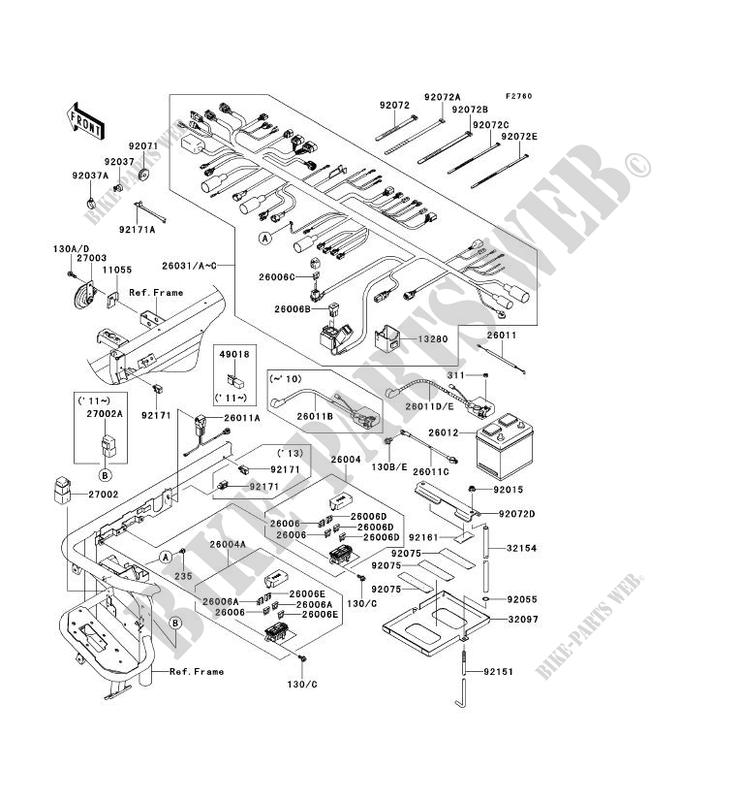 4010 kawasaki mule wiring diagram for horn wiring diagrams