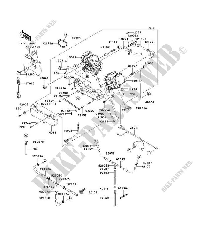 2008 Teryx Wiring Diagram - Engine Mechanical Components on