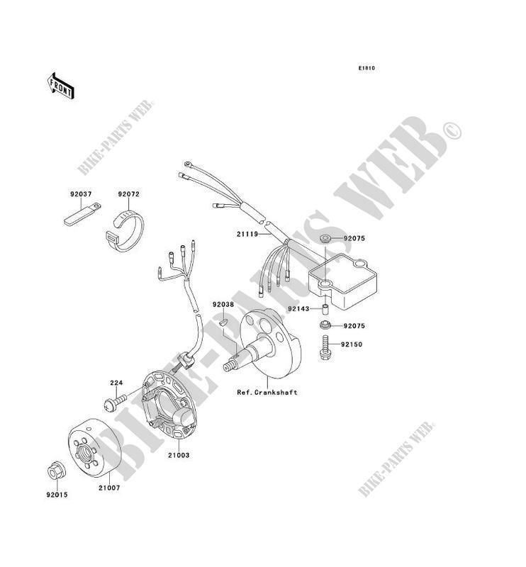 Wiring Diagram Kawasaki Kx 100