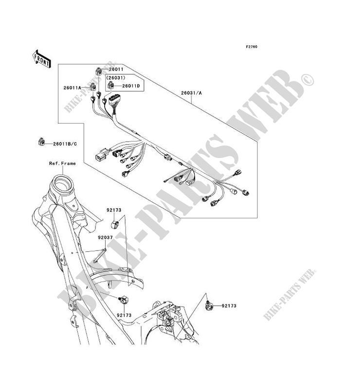 kawasaki kx250f wiring diagram wiring diagrams