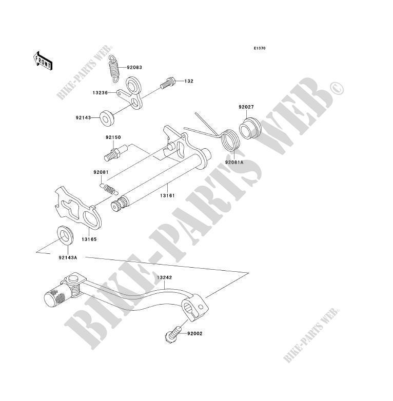 Shift Kx85b8f Kx85 Ii 2008 85 Tout Terrain Kawasaki Motorcycle. Kawasaki Toutterrain 85 2008 Kx85 Ii Kx85b8f Shift. Wiring. 2008 Kx85 Engine Diagram At Scoala.co