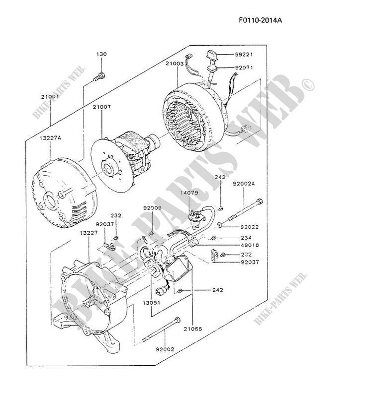 Kawasaki G7 Wiring Diagram Kawasaki Auto Wiring Diagrams Instructions