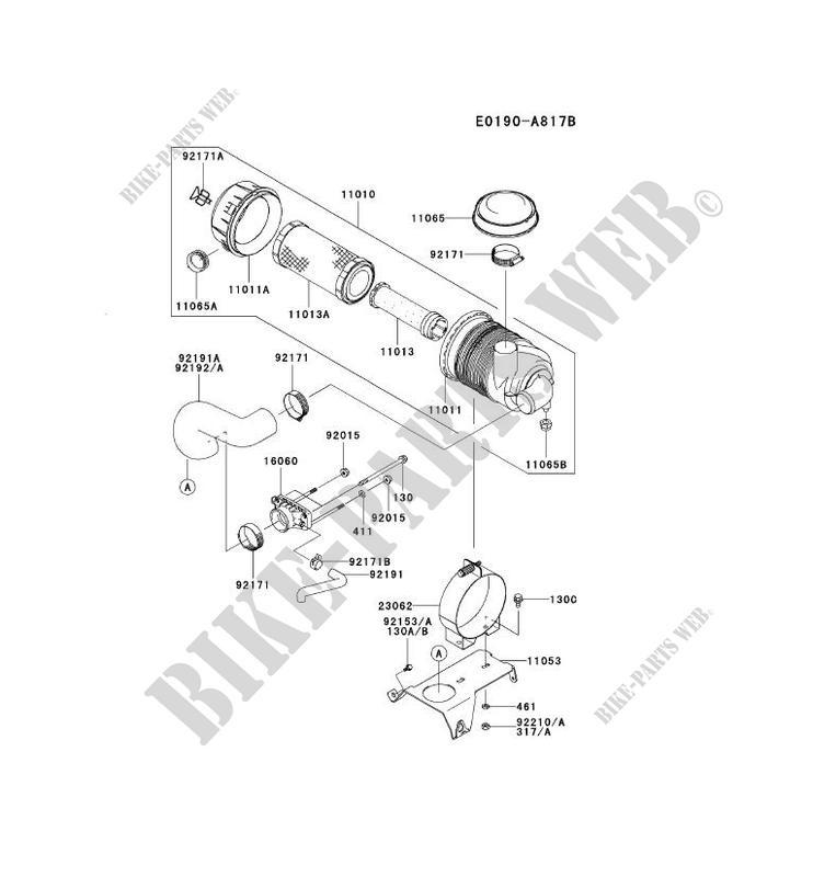 Kawasaki Replacement Part # 92171-7009 clamp