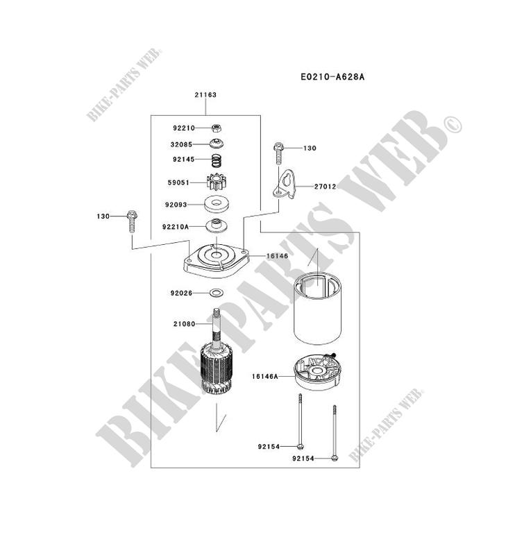 kawasaki fr651v engine parts list