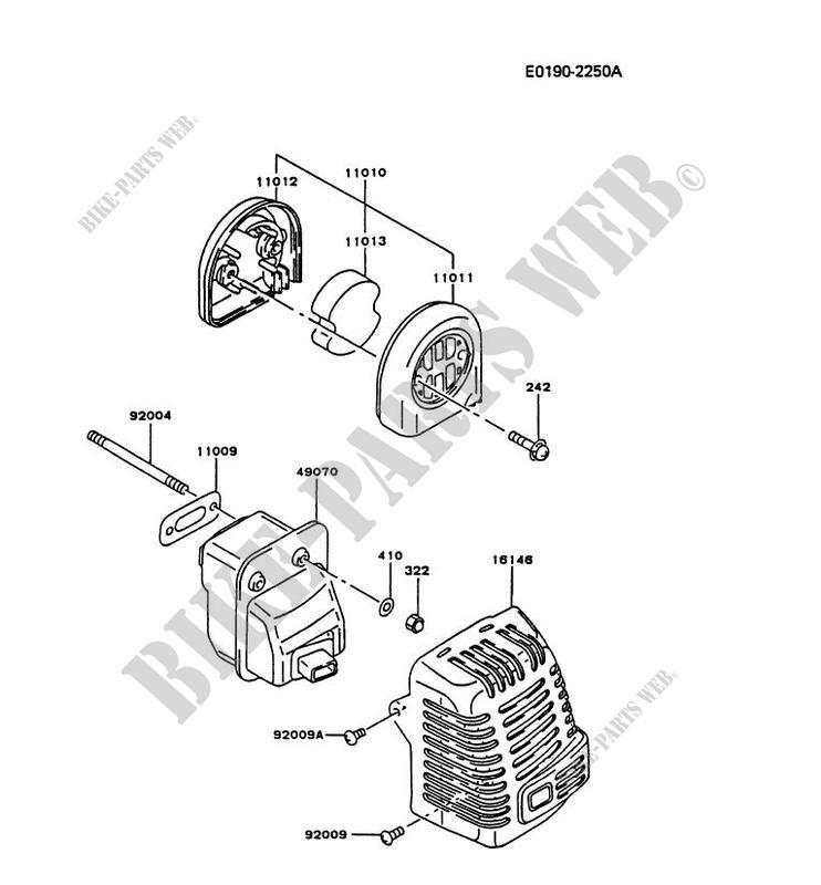 Air Filter Exhaust Tf022d Ac52 Tf Motors Tf022d Tf Petits Moteurs