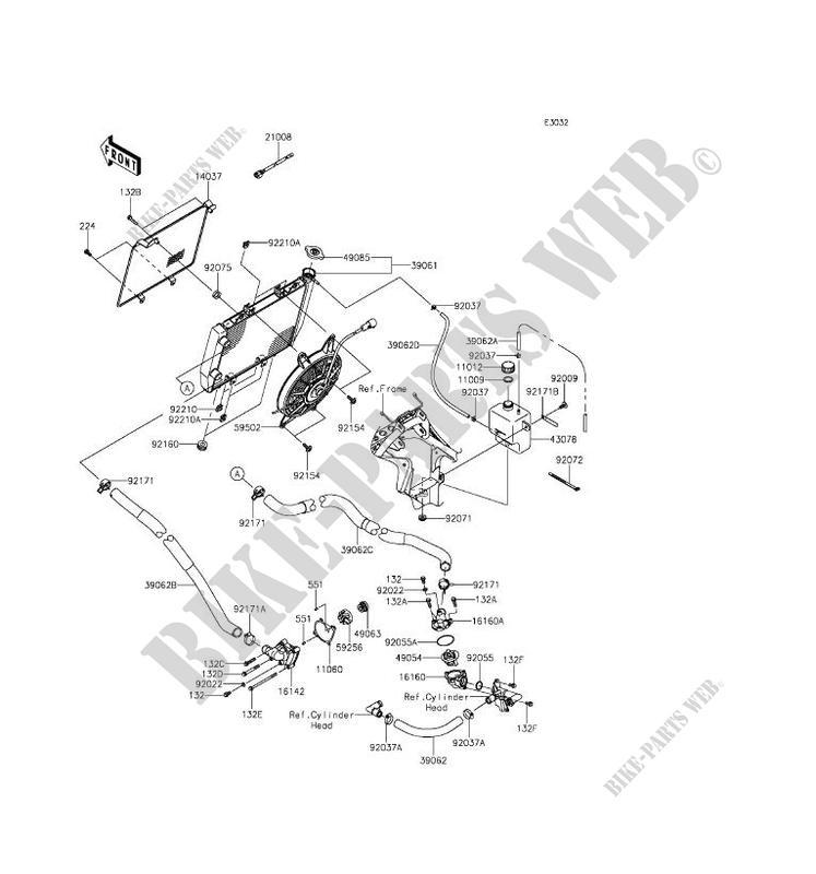 Kawasaki Brute Force 750 Part Diagram