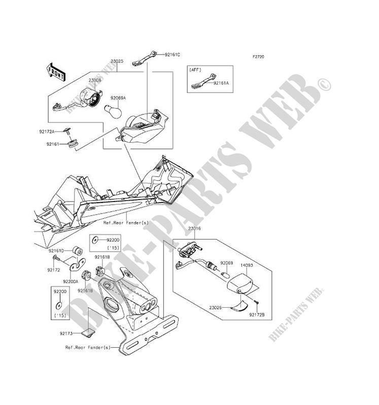 Kawasaki Ninja Tail Light Wiring Diagram - Wiring Diagrams Dock on