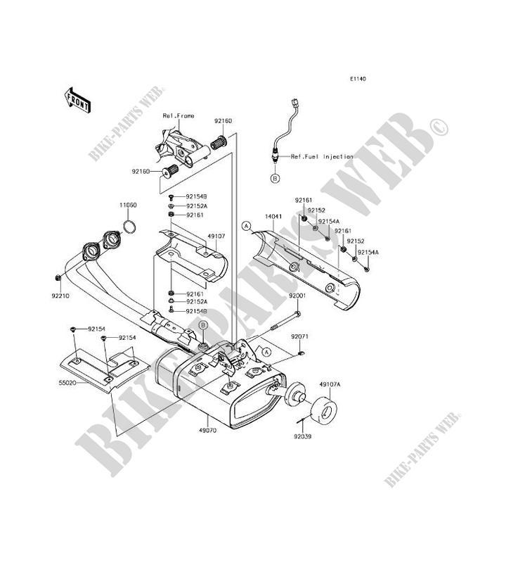 Kawasaki Motos 650 2017 Vulcan S Abs En650dhfa Exhaust: Kawasaki Vulcan S Wiring Diagram At Hrqsolutions.co